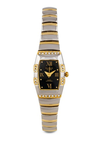 JH0134esprit台灣官網SG  時尚水鑽細鏈方形錶, 錶類, 其它錶帶