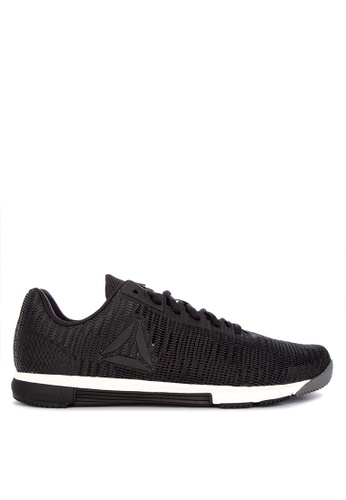 Reebok black Speed Flexweave Training Sneakers 788CESH4A2688AGS_1