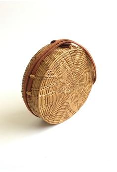 09e45b72cb ASHLEY SUMMER CO Star Large Woven Rattan Shoulder Bag - Beach Straw Basket  Bag S  89.00. Sizes One Size