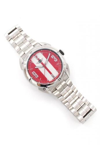 Mini red Analogue Watch MI057AC15AIIHK_1