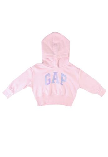 GAP pink Logo Hoodie CC60AKA0801B89GS_1