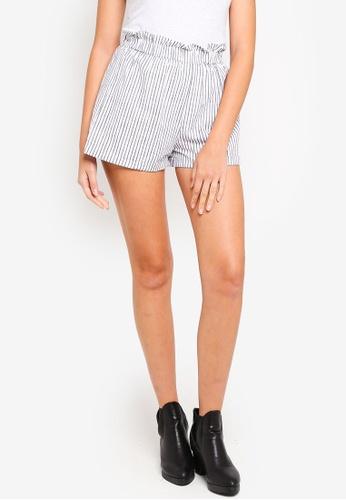 Cotton On white Maisy Paperbag Shorts 4D85CAAE26E04CGS_1