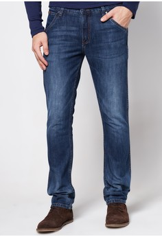 Spencer Blue On Blue Denim Pants
