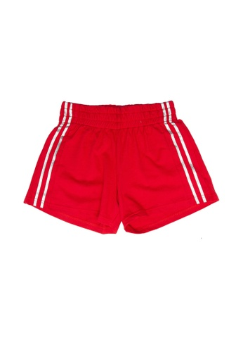 FOX Kids & Baby red Casual Shorts F0425KAD554379GS_1