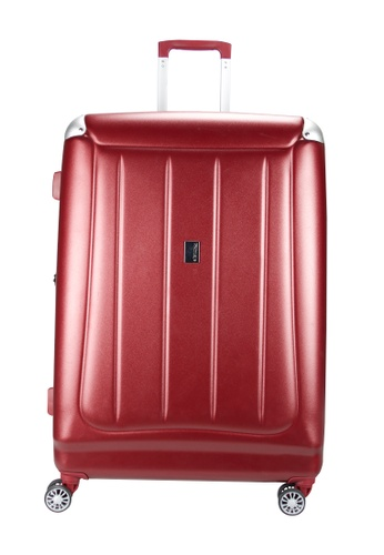 Airways red Airways 24 inch 8 Wheels Trolley Hard Case Luggage - ATH 7902 RED 0D894AC084AC4AGS_1