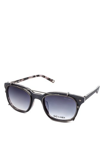 HEX EYEWEAR blue and navy Fraud - Frank A. - Optical with Clip-on - Italy Design HE671AC2V1LPHK_1