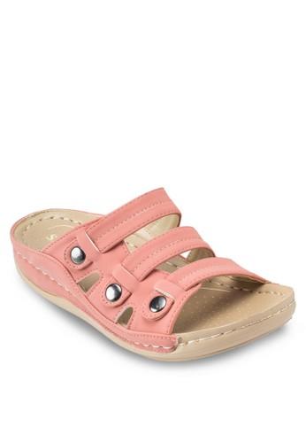 仿皮多帶涼鞋, 女鞋,esprit地址 鞋
