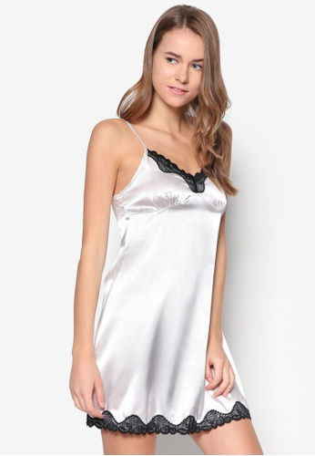 9ec5486a52d Impression white Satin Nightdress IM021AA85FEGSG 1