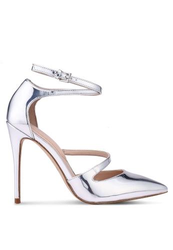 ALDO silver Sevoivia Heels B7BC6SH85938D5GS_1