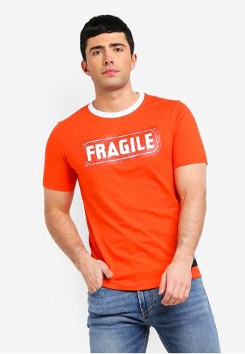 Calvin Klein 多色 印花休閒T恤 33875AAEF1CB6BGS_1