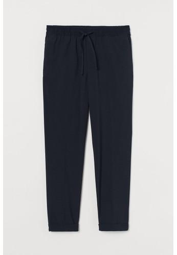 H&M blue Joggers Slim Fit DEC96AA612715DGS_1