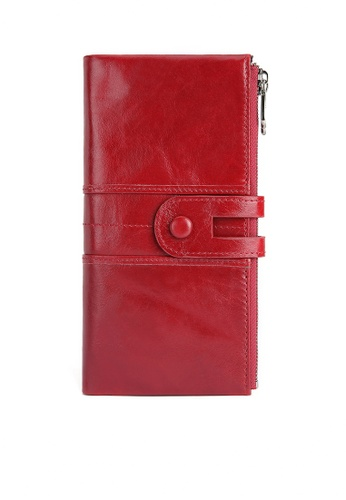 Twenty Eight Shoes Vintage Leather Business Casual Wallet 2072 DEBA9AC660CCD3GS_1