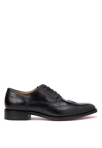 Bristol Shoes black Barclay Black Wingtip Oxford BR842SH71KCEPH_1
