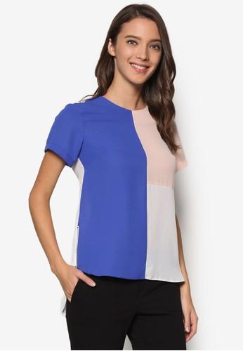 Colourblock Tee、 服飾、 T-shirtDorothyPerkinsColourblockTee最新折價
