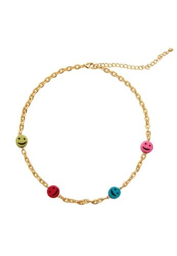 MANGO KIDS gold Bead Chain Necklace F3410KC0DE2B1DGS_1