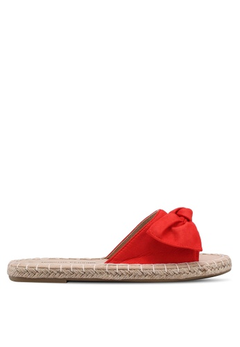 Dorothy Perkins red Red Freedom Bow Mules 9E580SH5D564DEGS_1