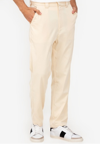 ZALORA BASICS beige Classic Chino Pants 1604AAA237799CGS_1