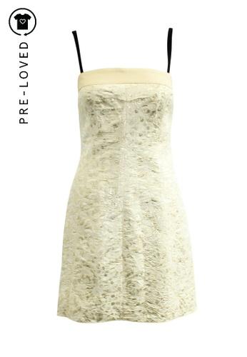 D&G gold Pre-Loved d&g Golden Sleeveless Dress 46681AAED307D6GS_1