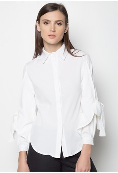 Butterfly Sleeves Blouse