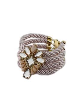 Stone Sunburst Bracelet