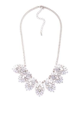 Kimberley silver Ornate Statement Necklace KI026AC0JN1XPH_1