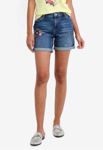 ESPRIT blue Denim Shorts CDC56AA91B8426GS_1
