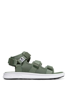 d29a7b47e06 New Balance green SD750 Sandals 036D4SH99F4B17GS 1