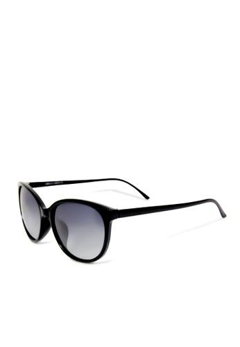 ASLLY black and multi Magic Array│Rectangle black sunglasses 3E990GL09F9788GS_1
