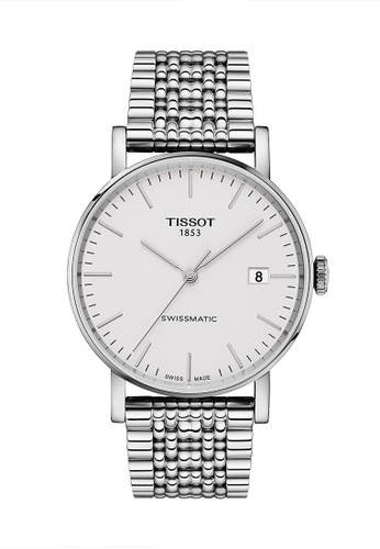 Tissot grey and silver Everytime Swissmatic Automatic Watch - T109.407.11.031.00 F5627AC8A81F90GS_1