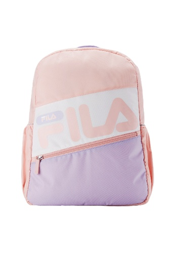 FILA pink FILA KIDS FILA Logo Colour Blocks Backpacks 5DEC2KC89B9755GS_1