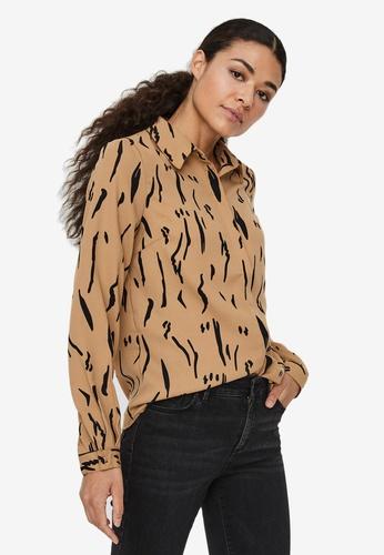 Vero Moda beige Elita Shirt 98749AA93D23DCGS_1