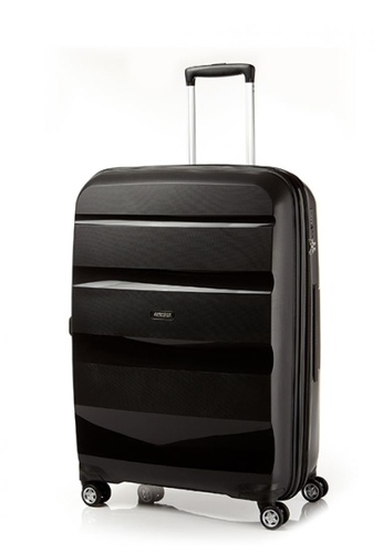 American Tourister black American Tourister Bon Air Deluxe Spinner 75cm Exp AM536AC0FAHXSG_1