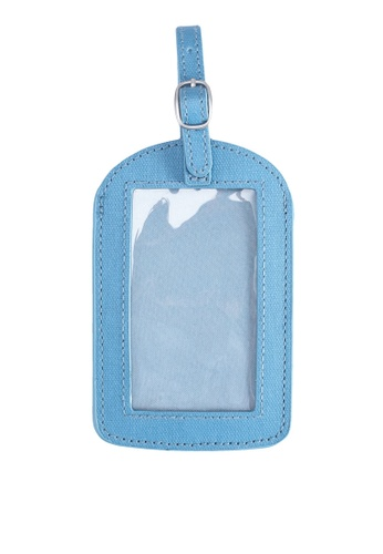 Cath Kidston blue Rollerskates Placement Luggage Tag 5EB14AC99E09DBGS_1