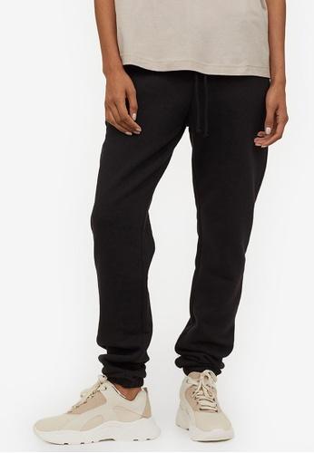 H&M black Sweatpants 1C100AA0036453GS_1