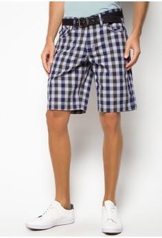 Josh Checkered Crew Shorts