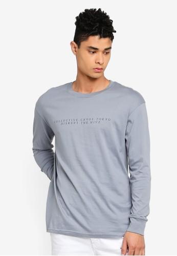 Cotton On grey Tbar Long Sleeve T-Shirt B1A88AA3599EE1GS_1