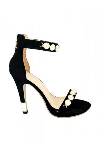 Mario D' boro Runway black LR 86684-Black- Heels 1694ESH5850119GS_1