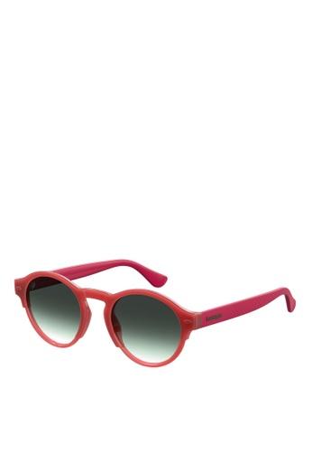 Havaianas red Caraiva Sunglasses 57E39GL9C344CFGS_1