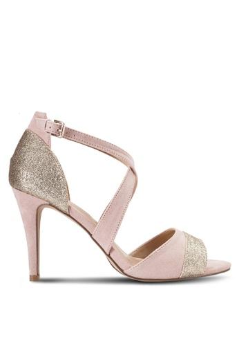 Dorothy Perkins pink Blush Pink Sasha Occasion Heeled Sandals DO816SH49DDYMY_1
