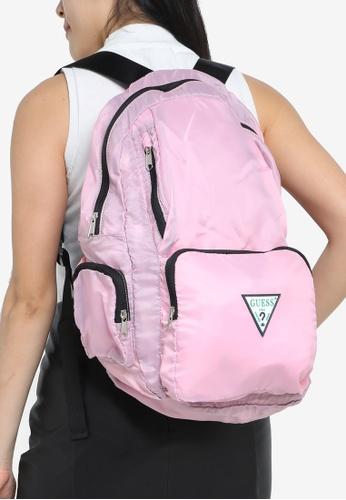 Guess pink Just4Fun Backpack 26C96AC253421CGS_1