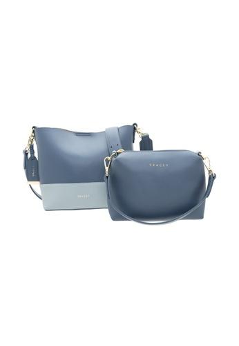 Tracey blue Tracey Double Tone-Vivian Handbag, Sling Bag Bundle Set 0109EACA34B1FEGS_1