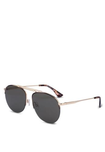 Le Specs gold Liberation 1702024 Sunglasses B4A4DGL466D207GS_1