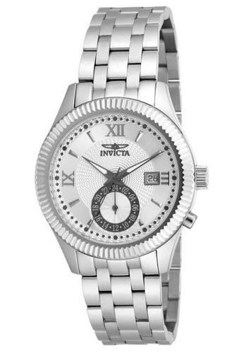 INVICTA silver Invicta Specialty Men 40mm Case Silver Stainless Steel Strap Silver Dial Quartz Watch 18099 IN968AC0F7FGSG_1