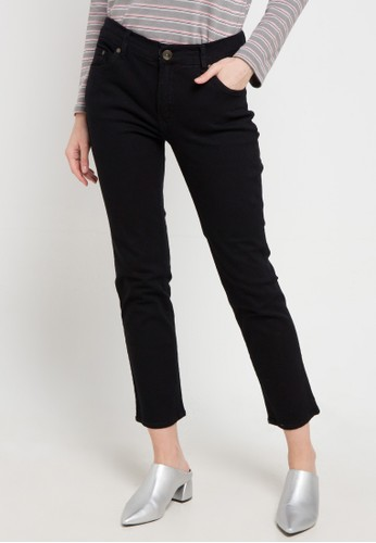 Expand black Basic Straight Denim 7DBF2AAF4ACE78GS_1