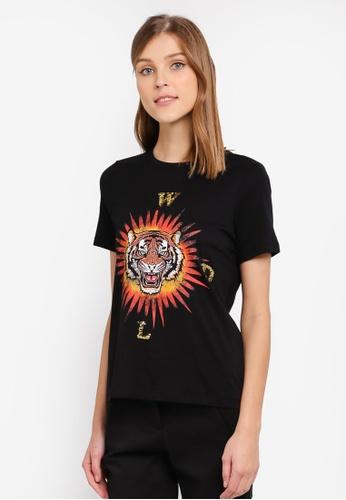 Vero Moda black Mando T-shirt VE975AA0ST3RMY_1