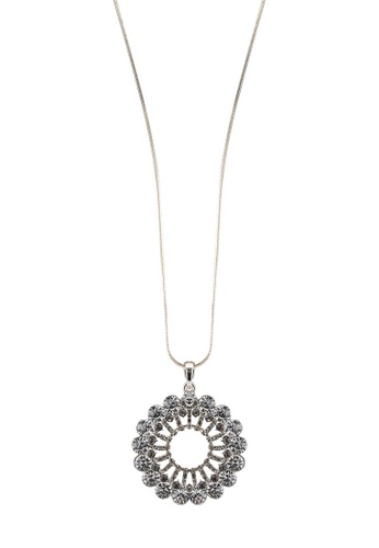 Megane silver Alcea Rosil Necklace 9CB2AACD0263C0GS_1