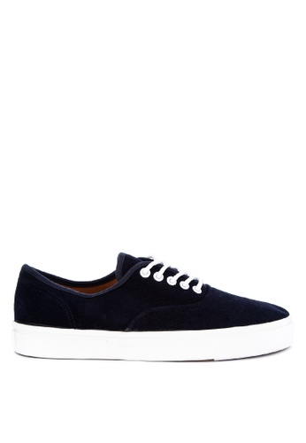 H2Ocean navy Calimero Two Tone Sneakers Lace up 7267ASHC2712F8GS_1
