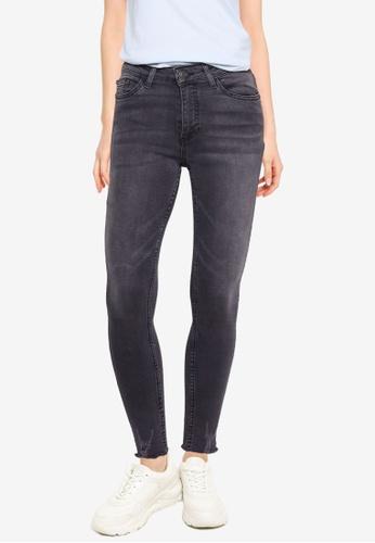 Aeropostale grey Mid Rise Skinny Jeans 4C4AAAA048EB05GS_1