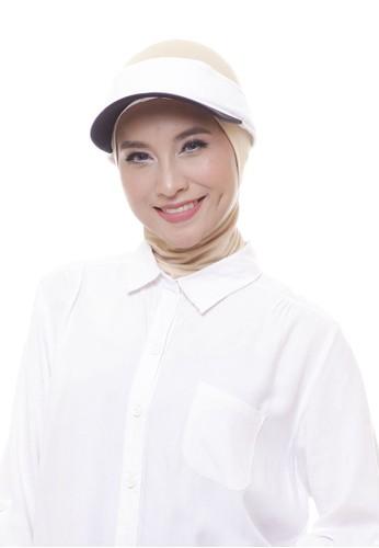 Attiqa Active white Petite Visory (White & Black), Woman Cap B5EB2AC6AAF0AAGS_1
