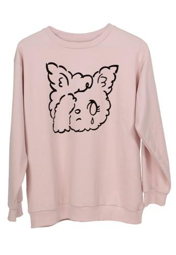 Yoru pink Sweater Cute F9937AAD52367AGS_1